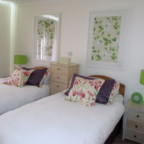 Guernsey in Bloom Twin Bedroom